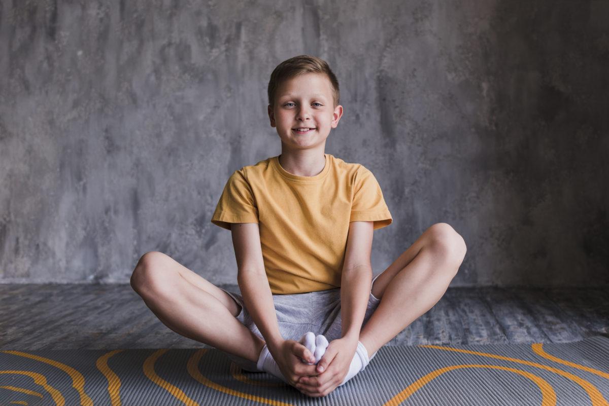 self-awareness kid sitting on the ground