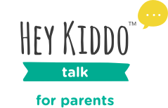 HeyKiddo™ Talk Logo